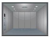 Levage latéral de fret de porte d'ouverture avec l'étage de plaque en acier