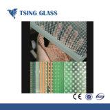 Glas van Inuslated van het Glas van het Glas van de Vlotter van de Druk van de serigrafie het Aangemaakte Glas Gelamineerde voor Decoratie