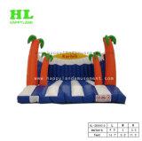 Sun et les nuages Thème Météo Inflatable Jumping videur pour les enfants