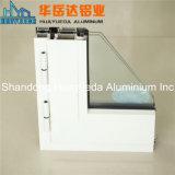 Los perfiles de aluminio recubierto de polvo de aluminio de la decoración de marco de ventana deslizante