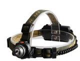 손은 18650 운동 측정기 스위치를 가진 재충전용 3W Headlamp를 해방한다