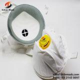 SMOG-Luft-weiche Augen-Form-schützende Gesichts-Atemschutzmaske der China-N95 Wegwerf3 Falte-pp. nicht gesponnene Anti