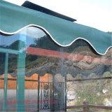 As cortinas plásticas transparentes