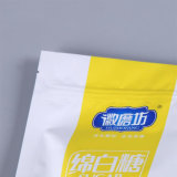 Flat Bottom Gusset Stand up Aluminium Laminated Food Pouch avec Zip Lock / Plastic Packing Bag avec fenêtre (ML-E26)