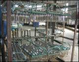 l'oro stabilito dell'acciaio inossidabile della coltelleria delle posate dell'insieme di pranzo del padellame 72-84PCS ha placcato