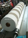 Velocidad que rebobina rajando la máquina maxi del papel higiénico del rodillo