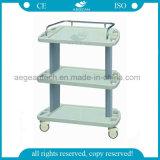 AG-Lpt003A trois couches d'hôpital de chariot mobile à équipement médical