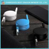 Синий складной зарядное устройство с 1 м 2 м 3 м ПВХ USB 2.0 на 3.1 кабель типа C