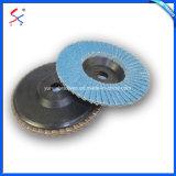 75*10mm disco de fibra de plástico com lastro para polimento de metais