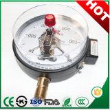 Contact électrique 60mm manomètre de dépression de manomètre avec prix attractif