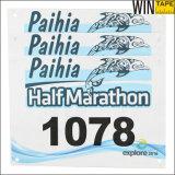 Papel da marca OEM/ODM Tyvek Marathon Corrida Números Bibs