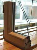 Le plus défunt obturateur en aluminium de Constmart glissant la fenêtre de glissement verticale avec le meilleur prix