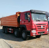 Sinotruk HOWO 8X4 12 바퀴 팁 주는 사람 트럭 덤프 트럭