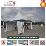 Tenda quadrata parabolica del Pagoda della tenda 5X5m di figura per il partito esterno
