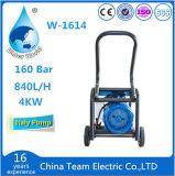 Máquina eléctrica de alta velocidad y de alta presión de la limpieza de la alfombra