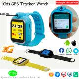 relógio do perseguidor de 3G WiFi GPS com rotação Camer D18s
