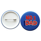 第1お父さんシリーズプラスチック底Pinのバッジ