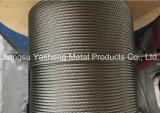 Câble métallique d'acier inoxydable 1*19-12mm