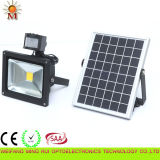 Высокое Lumens Solar Sensor СИД Flood Light 10W