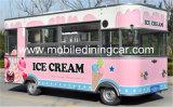 Vente mobile chinoise Van d'aliments de préparation rapide/chariot de nourriture rue commerciale