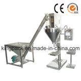 Máquina de rellenar del polvo seco semi automático caliente de la venta con el taladro