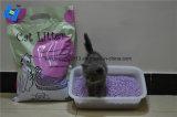 La arena de gato: Tofu arena de gato con aroma a lavanda