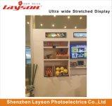 19 pouces étiré Bar ultra large de la publicité Media Player de signalisation numérique multimédia de réseau WiFi moniteur LED Affichage panneau LCD pleine couleur