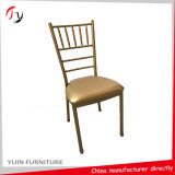 Gepolstertes örtlich festgelegtes hartes Kissen, das Miethochzeits-Stühle (AT-352, stapelt)