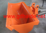 1800mm Width (HD-ETB120)の日立Zx120のための掘削機Tilt Bucket