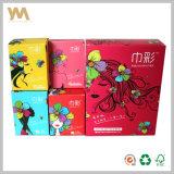Impresión de la caja de encargo de lujo del papel para toallas sanitarias