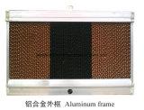 Almofada de resfriamento evaporativo para emissões e avícola