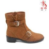 Лодыжка Boots повелительница Ботинок с украшением пряжки и заклепки (AB660)