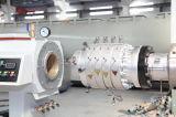 Ligne boudineuse à vis de machine d'extrusion de pipe d'eau propre de PVC de pipe d'approvisionnement en eau conique