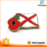 Custom Metal Crafts Poppies와 National Flag Imitation Enamel Badge Metal Commemorative Badge Metal Badge 제조자
