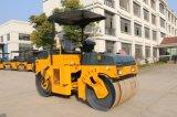 El mejor precio de 3 toneladas de vibración hidráulica de doble tambor rodillo de la carretera a la venta