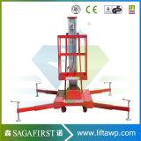 matériel de construction de plate-forme de travail aérien de 6m à de 16m