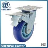 Hochleistungspolyurethan-örtlich festgelegtes industrielles Fußrollen-Rad
