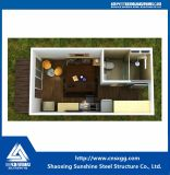 Ökonomisches Fertigbehälter-Büro-Haus für Verkauf