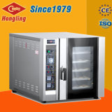 Hongling eléctrico 5 bandejas automática pan caliente el aire que circula por convección Horno para la venta