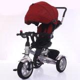 Venda por atacado de borracha do triciclo do bebê do triciclo de três miúdos das rodas em China
