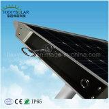 100W intelligente Solarstraßenlaterne der Systems-LED im Hülsen-Typen