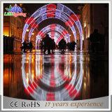 Indicatore luminoso esterno di festa dell'arco LED di natale della decorazione della via