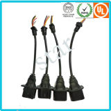 Assemble H13 Waterproof Molding Auto Light Electronic Sleeve Wrapped Wire Harness
