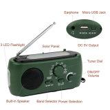 Rd-332 conducido de emergencia multifunción portátil Radio AM/FM/Solar Powered Linterna Dynamo W/