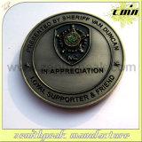 Codice categoria molle di giubileo d'argento della moneta del premio dello smalto del doppio metallo laterale di disegno