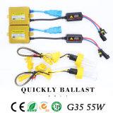 Il colore giallo HA NASCOSTO il xeno NASCOSTO l'identificazione dell'automobile delle lampadine NASCOSTO 3000K degli indicatori luminosi (H7 H4 H1 H3 H8)