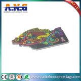 Impressão personalizada irregulares de PVC Business Card com Canto fosco