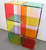 Présentoir acrylique de forme de S