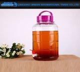 1000-5000ml 과일 효소와 포도 포도주를 위한 유리제 저장 단지