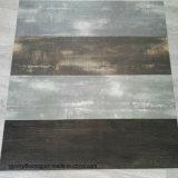 Étage sec de vinyle de PVC de dos de configuration en bois chaude